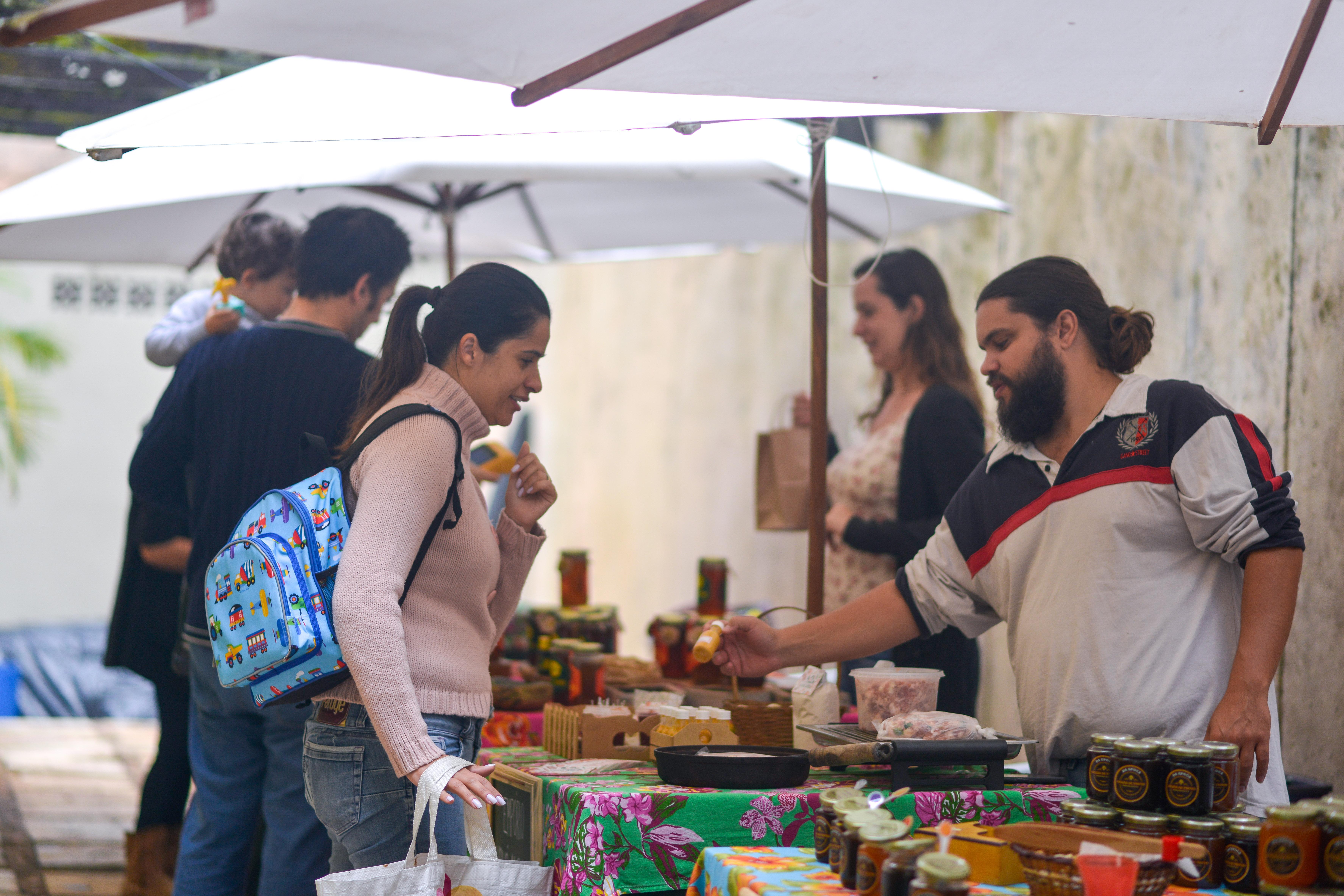 Empório Vovó Alba na Feira Fresca no São Bento