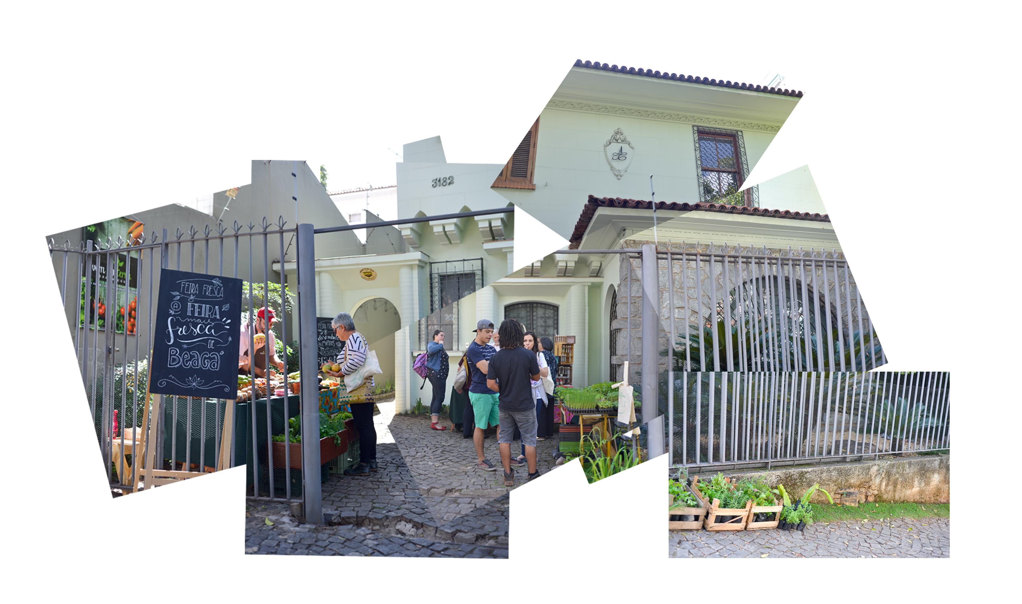 Feira Fresca na Casa Ateliê - Montagem