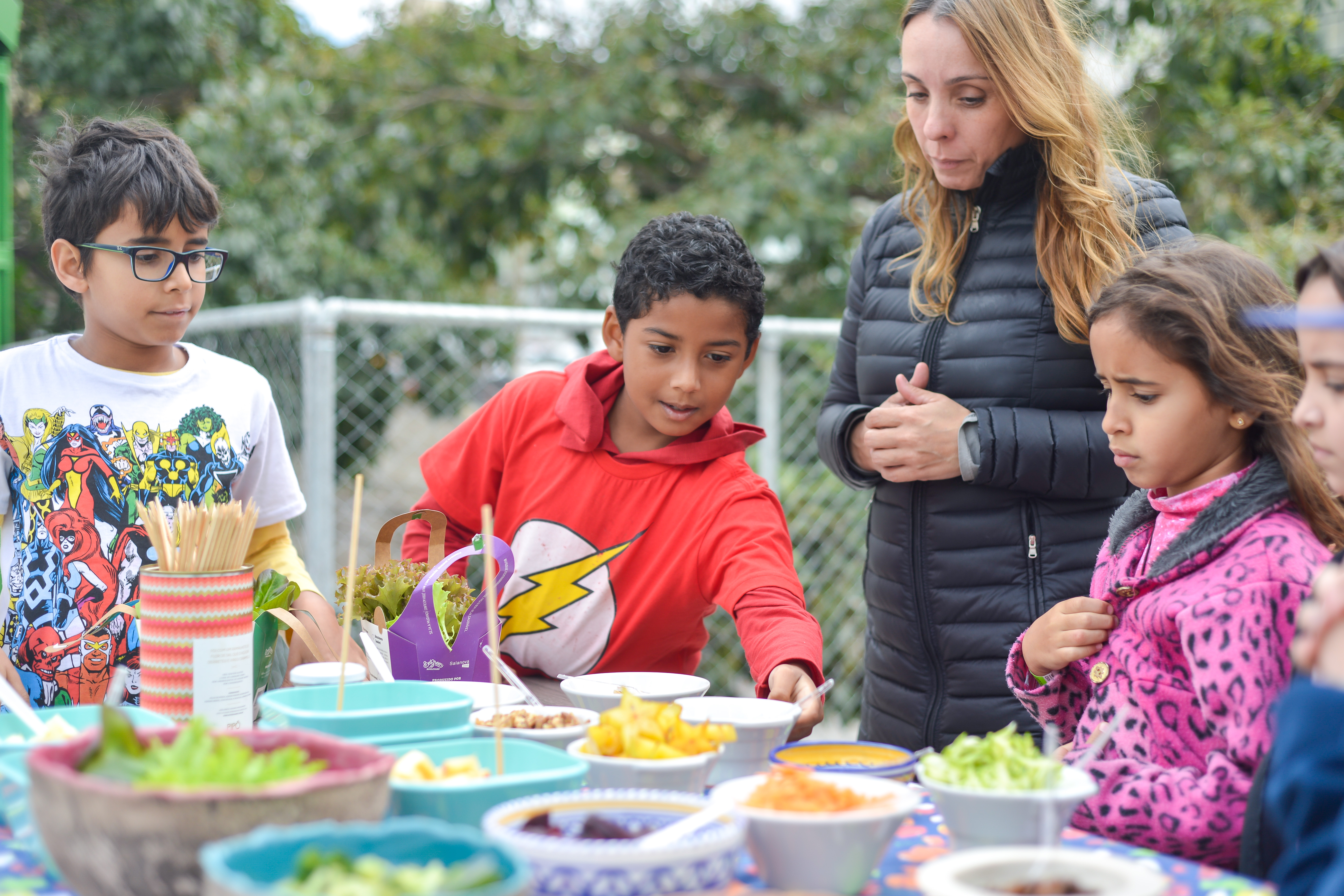 Oficina Sensorial Inhame Inhame para Crianças na Feira Fresca