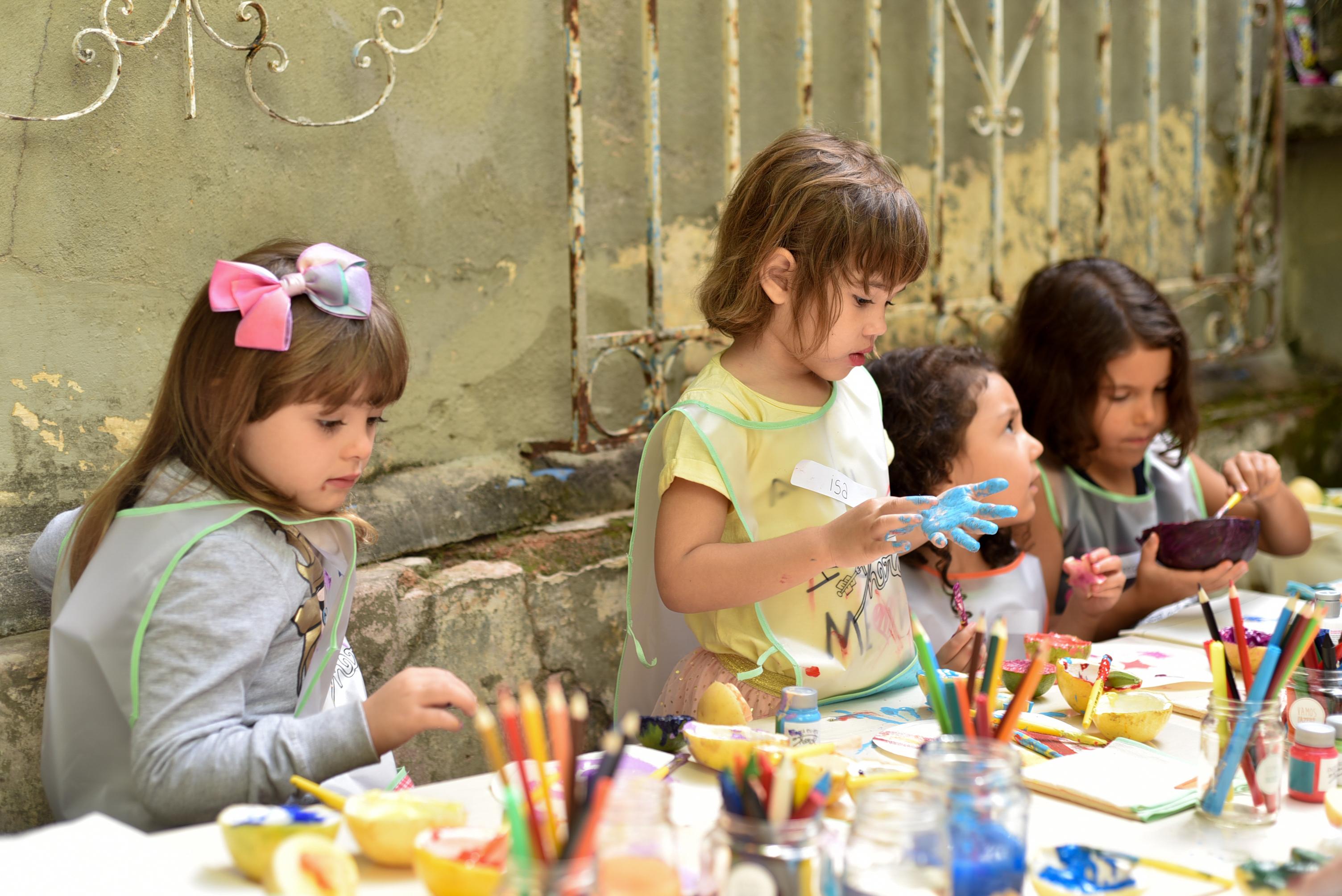Oficina Crianças Feira Fresca