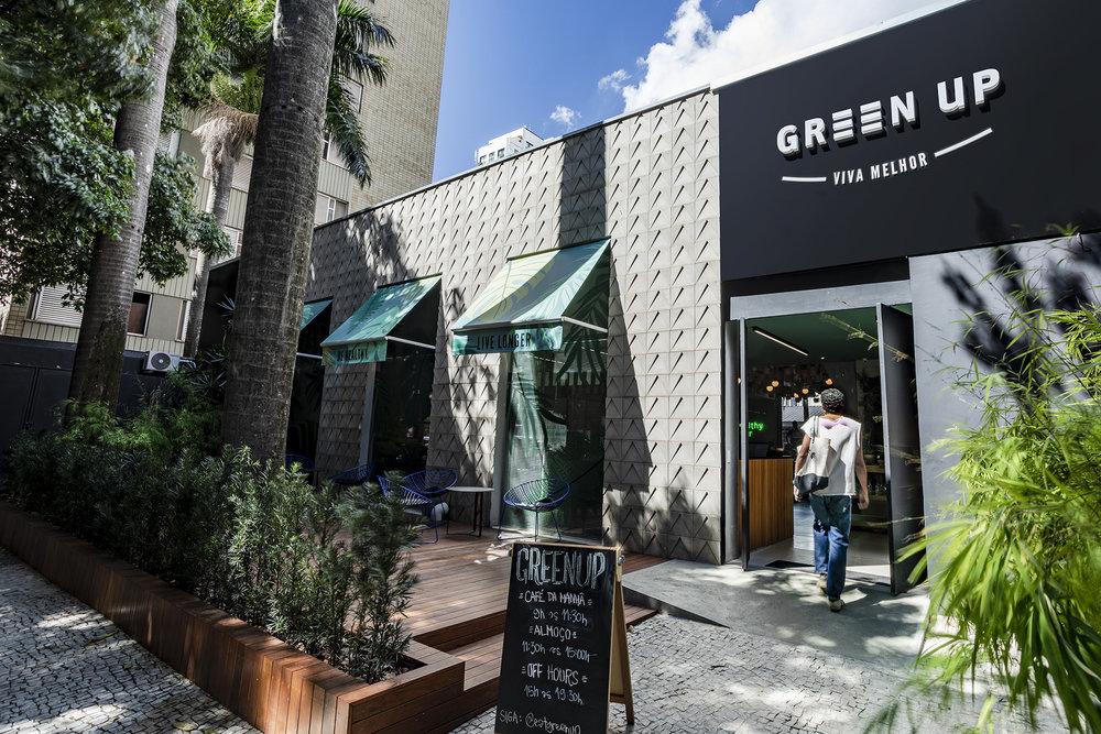 Green Up entrada