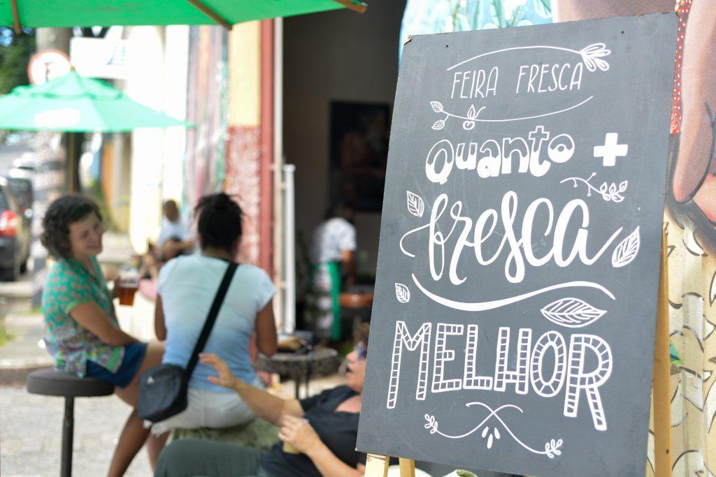 Banner Feira Fresca Galpão Paraíso