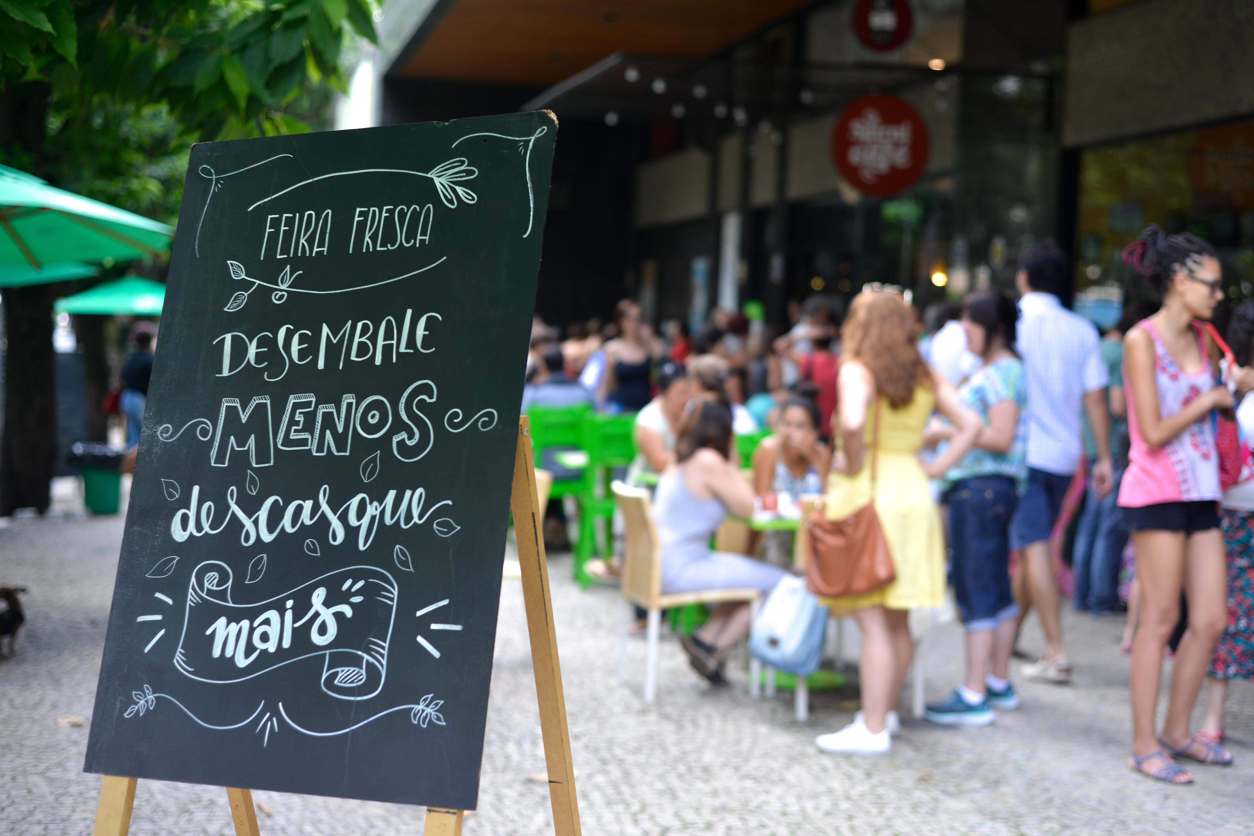 Banner Feira Fresca Spiral com Café