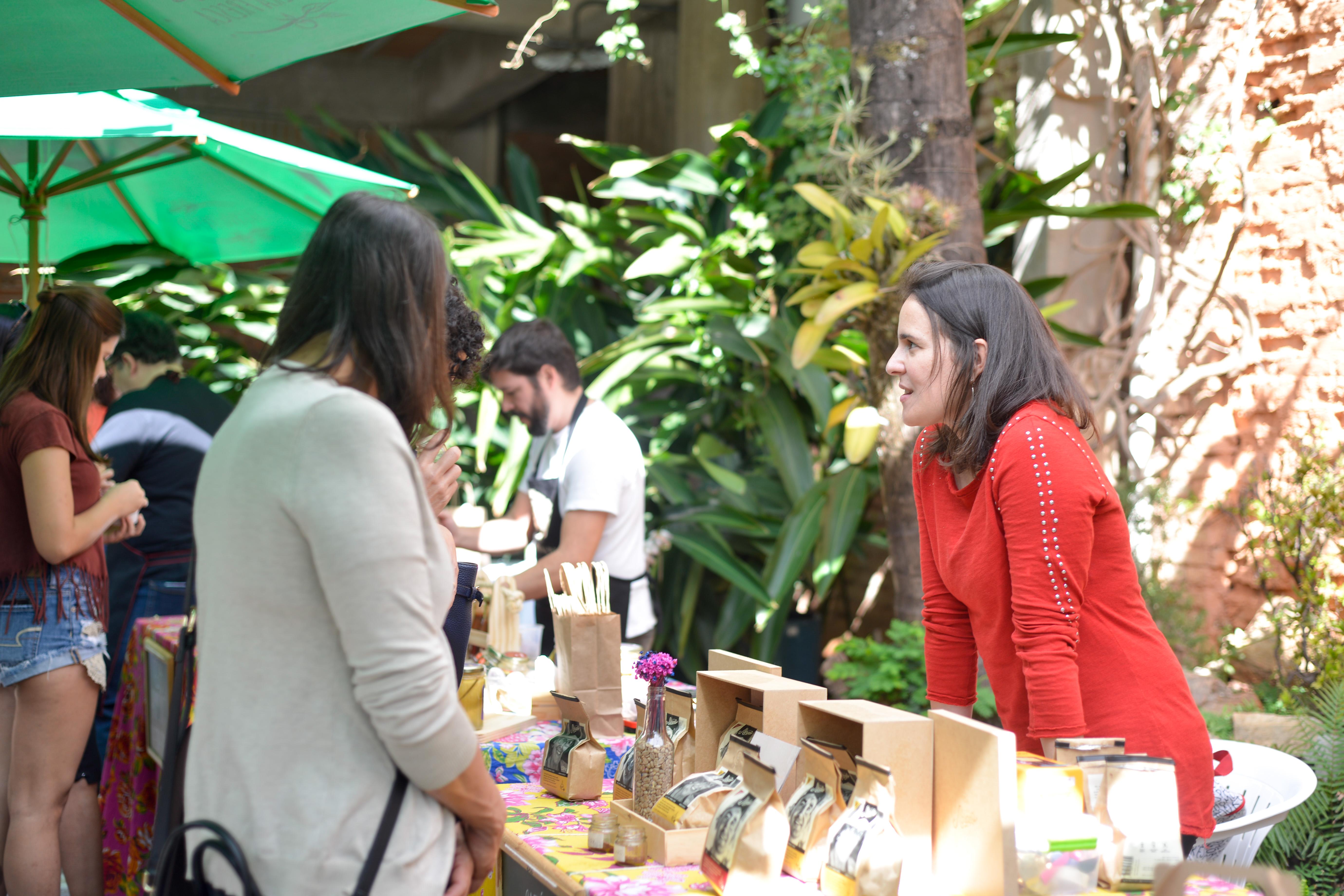 Café Abraço na Feira Fresca na Serra
