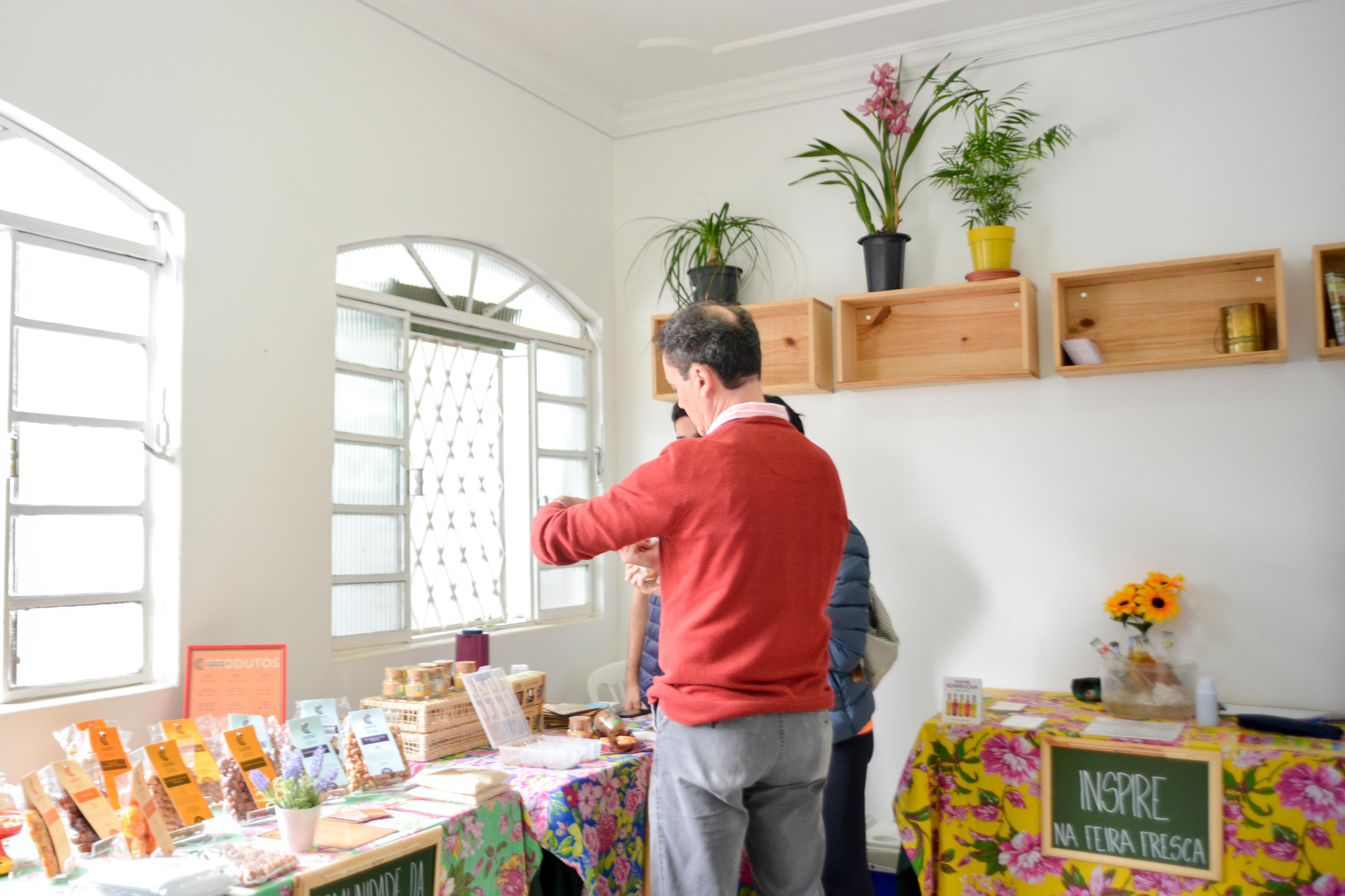 Interior Casa Fresca na Feira Fresca