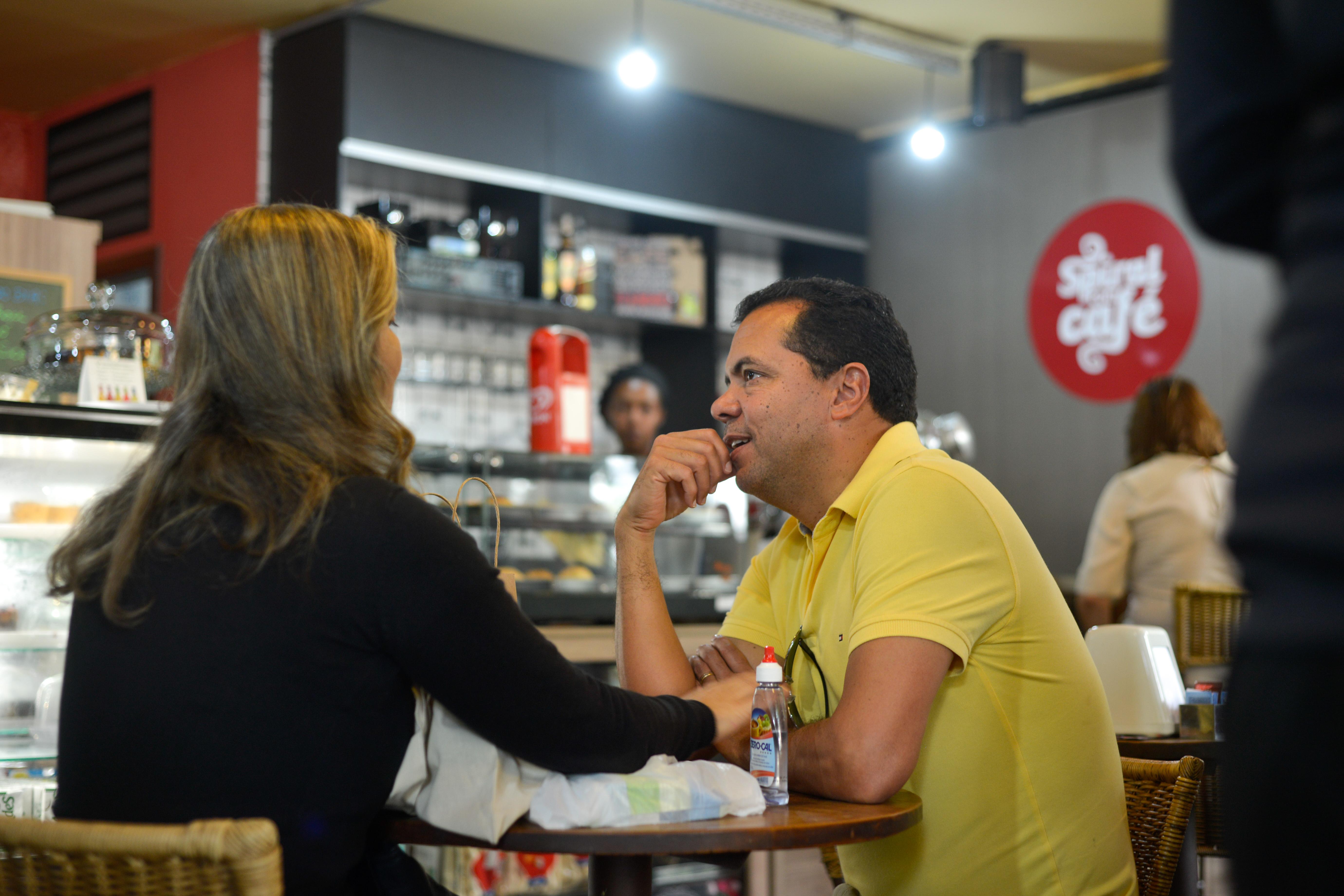 Feira Fresca no Spiral com Café
