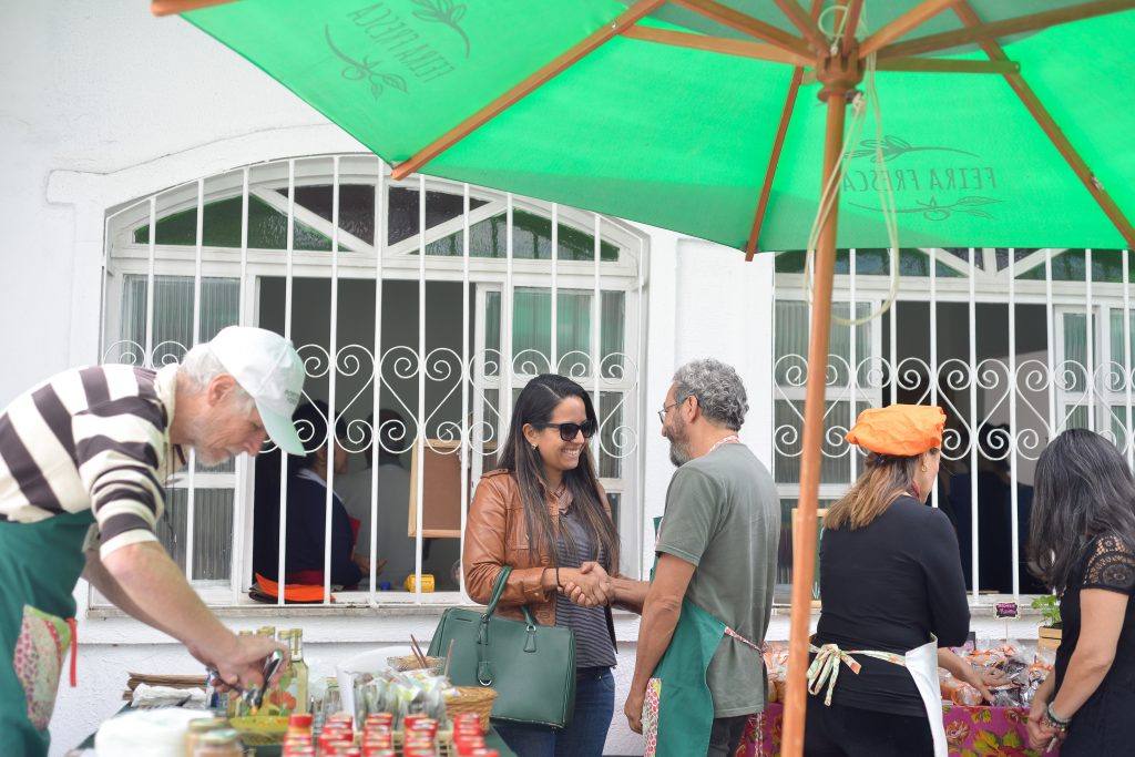 Porteira Verde na Feira Fresca da Casa Fresca