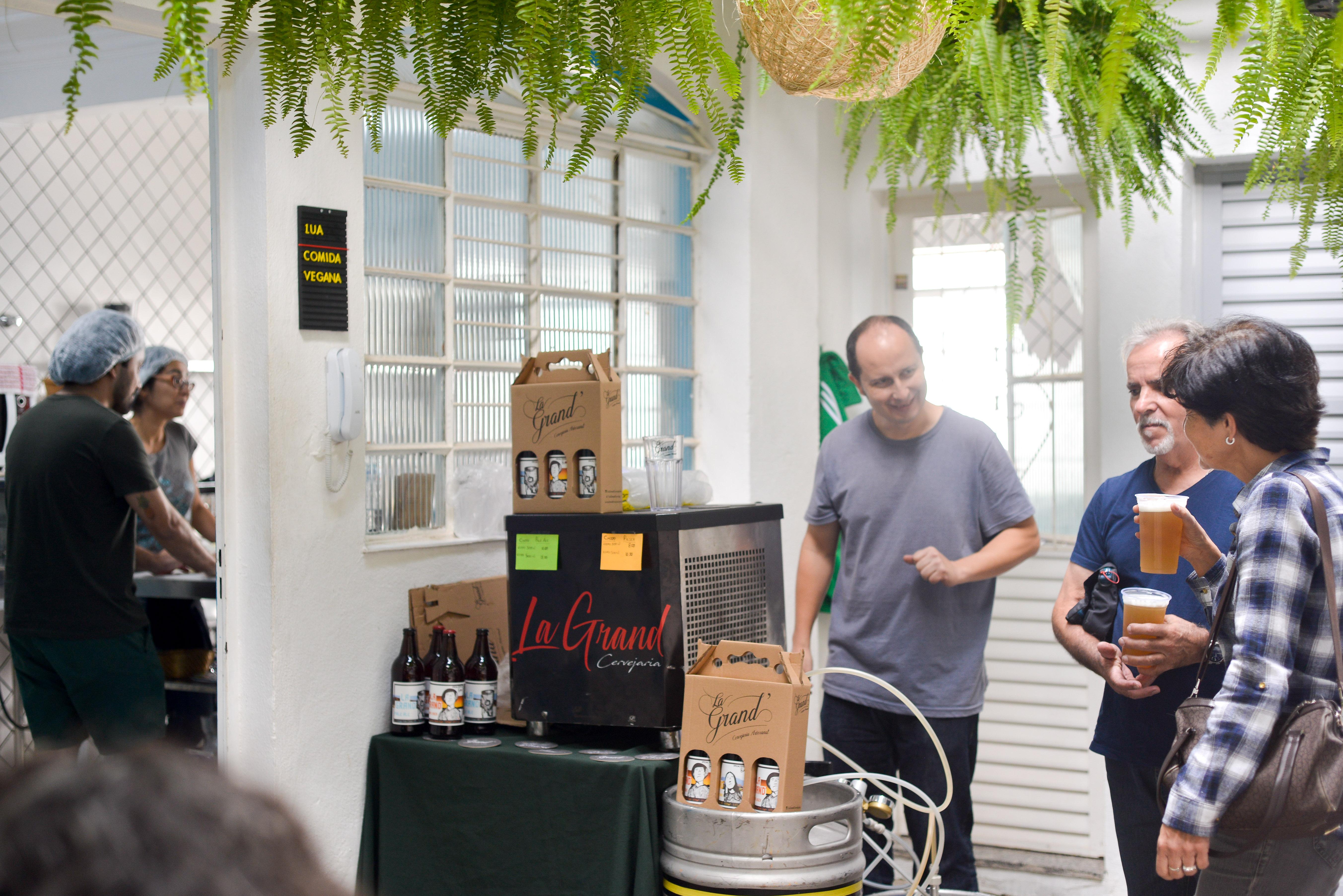 Cerveja La Grand' na Feira Fresca da Casa Fresca