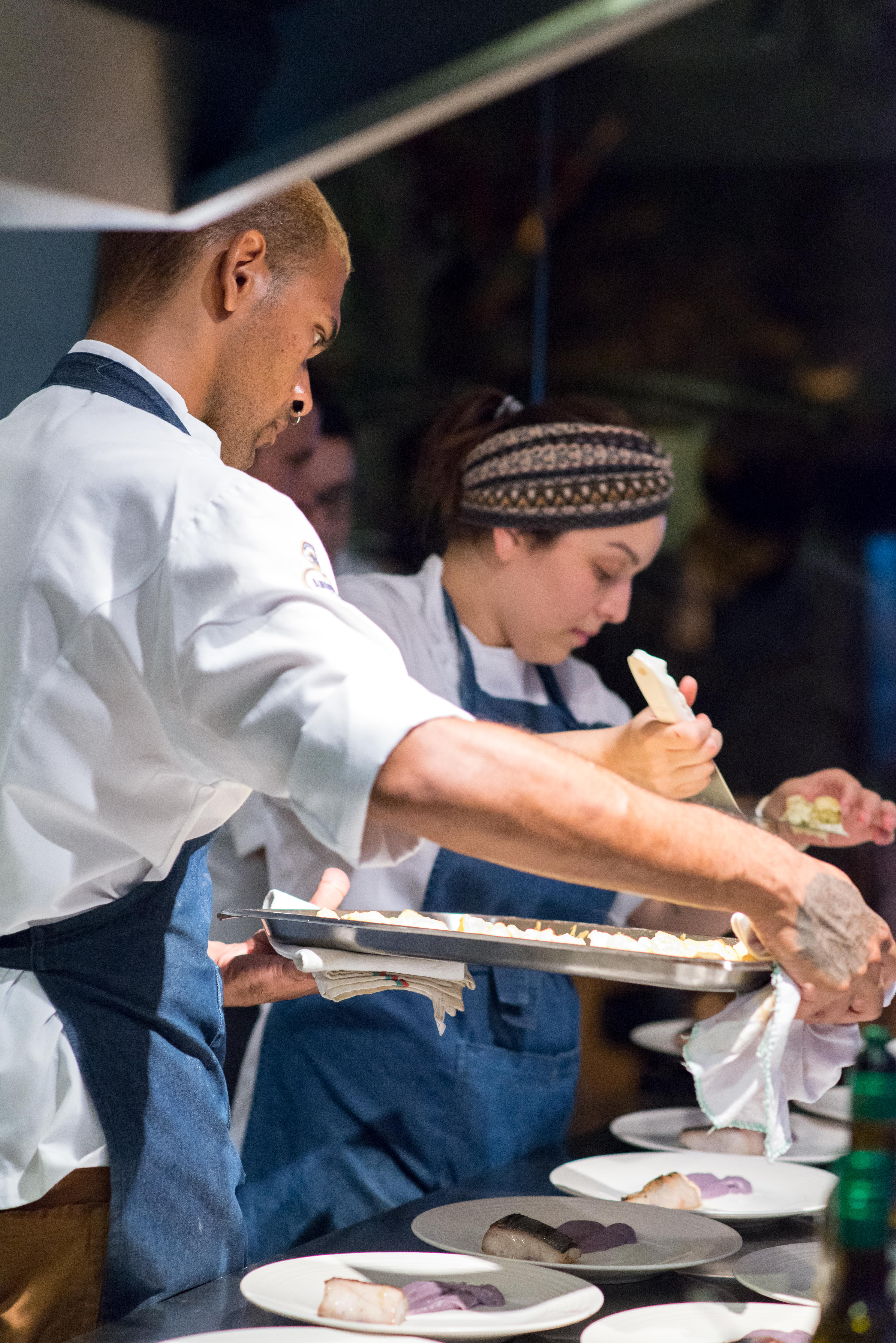 Preparo restaurante Alma Chef