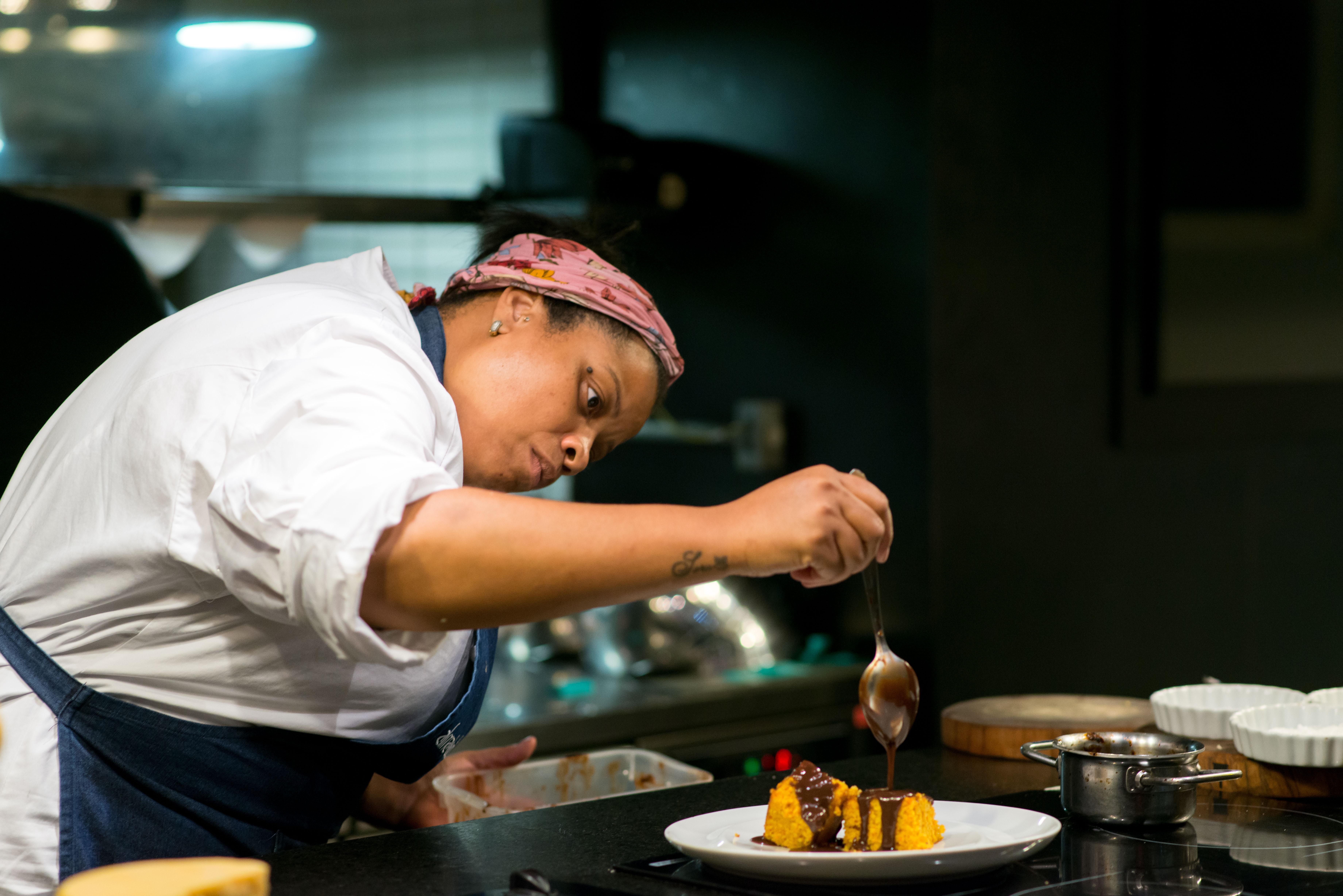Bolo de Cenoura - Feira Fresca no Alma Chef