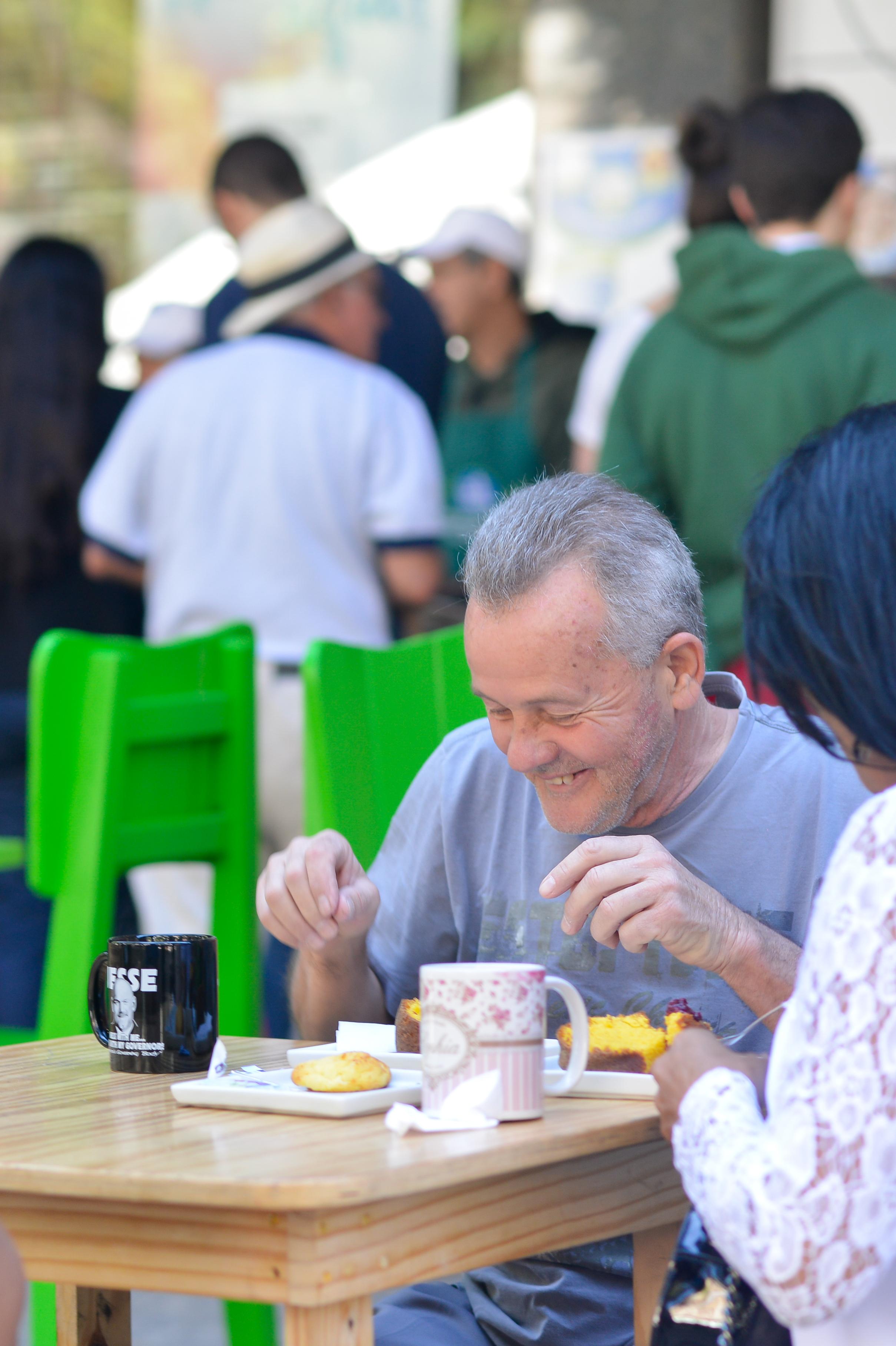Vovô Feira Fresca Spiral com Café