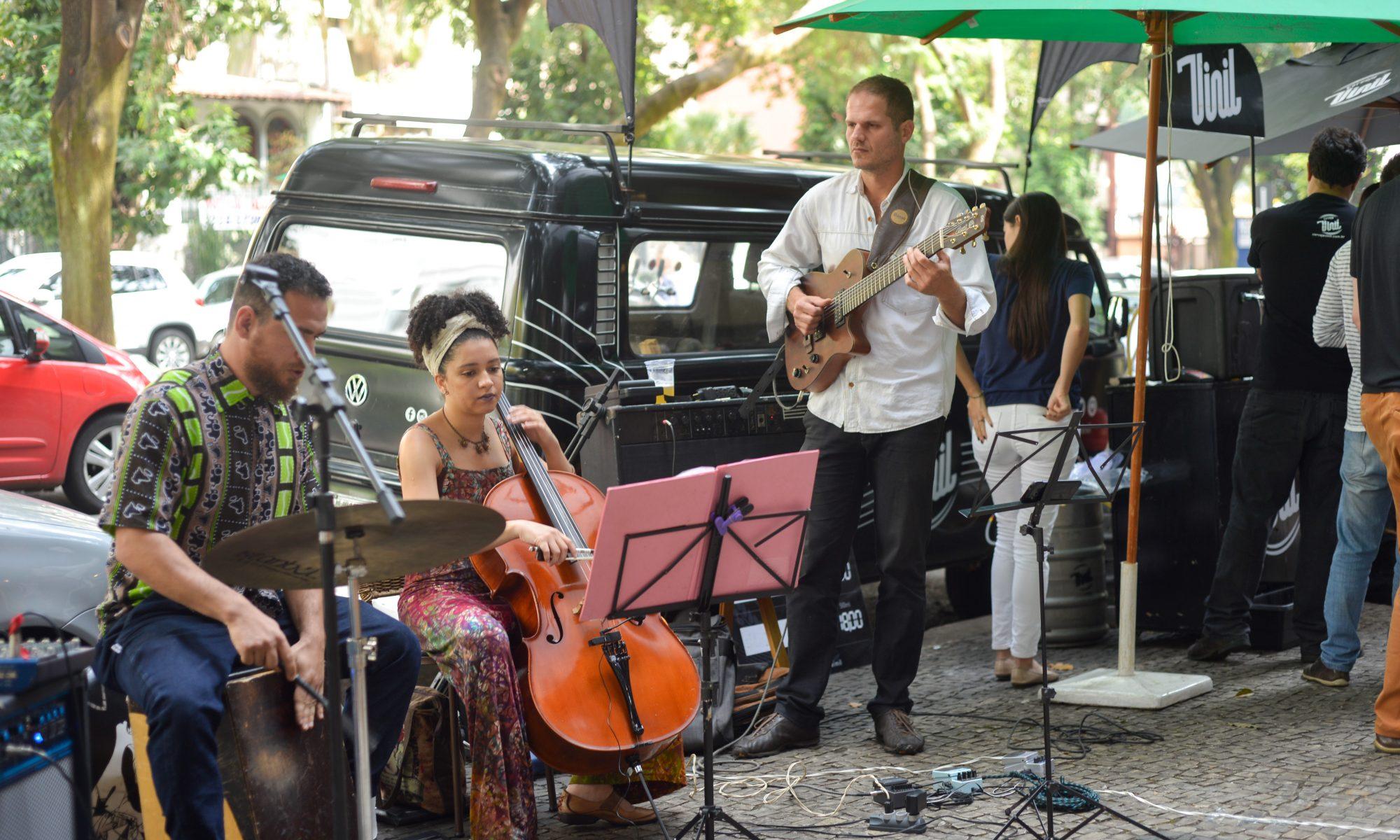 Música Instrumental Feira Fresca Spiral com Café