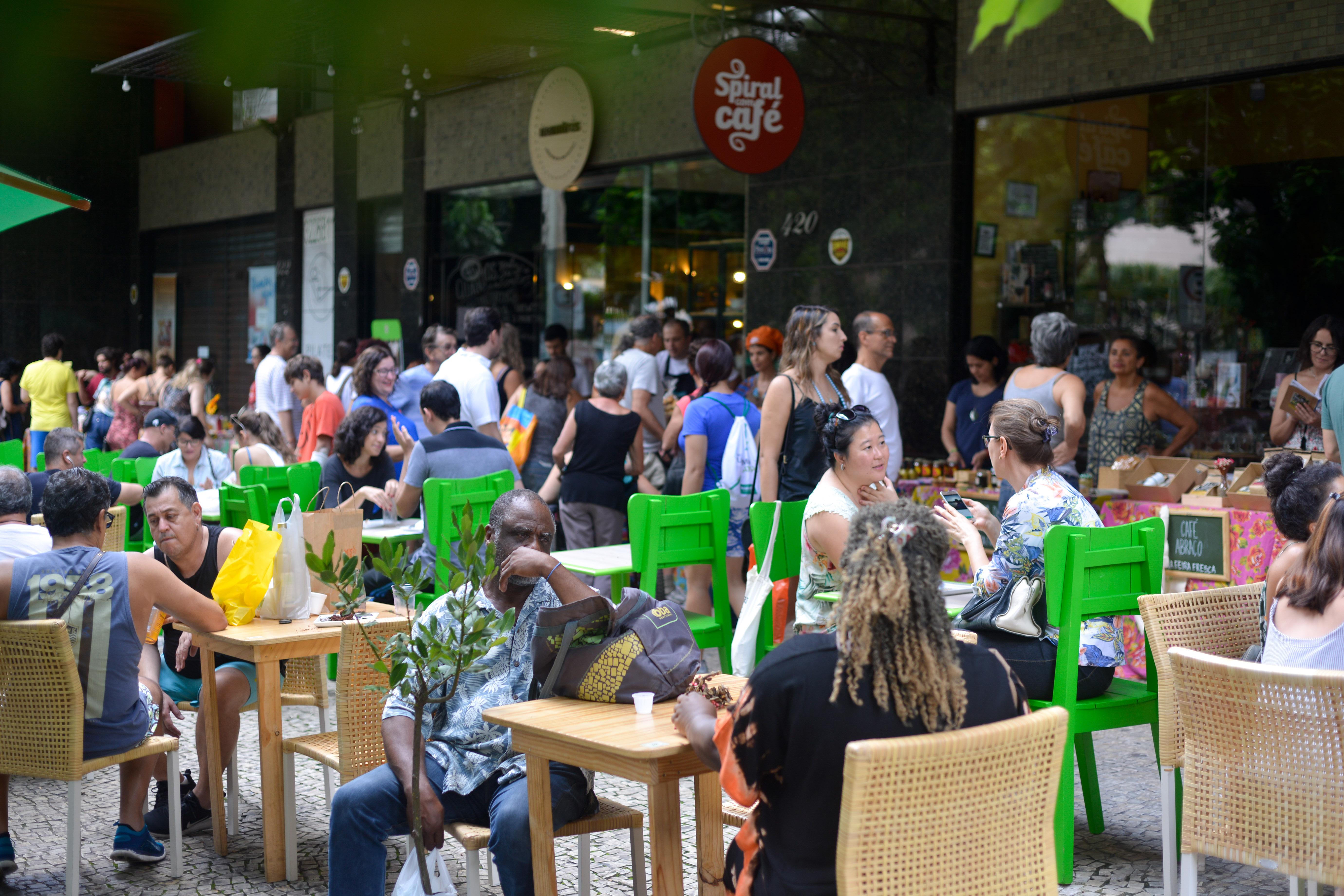 Ambiente Feira Fresca Spiral com Café