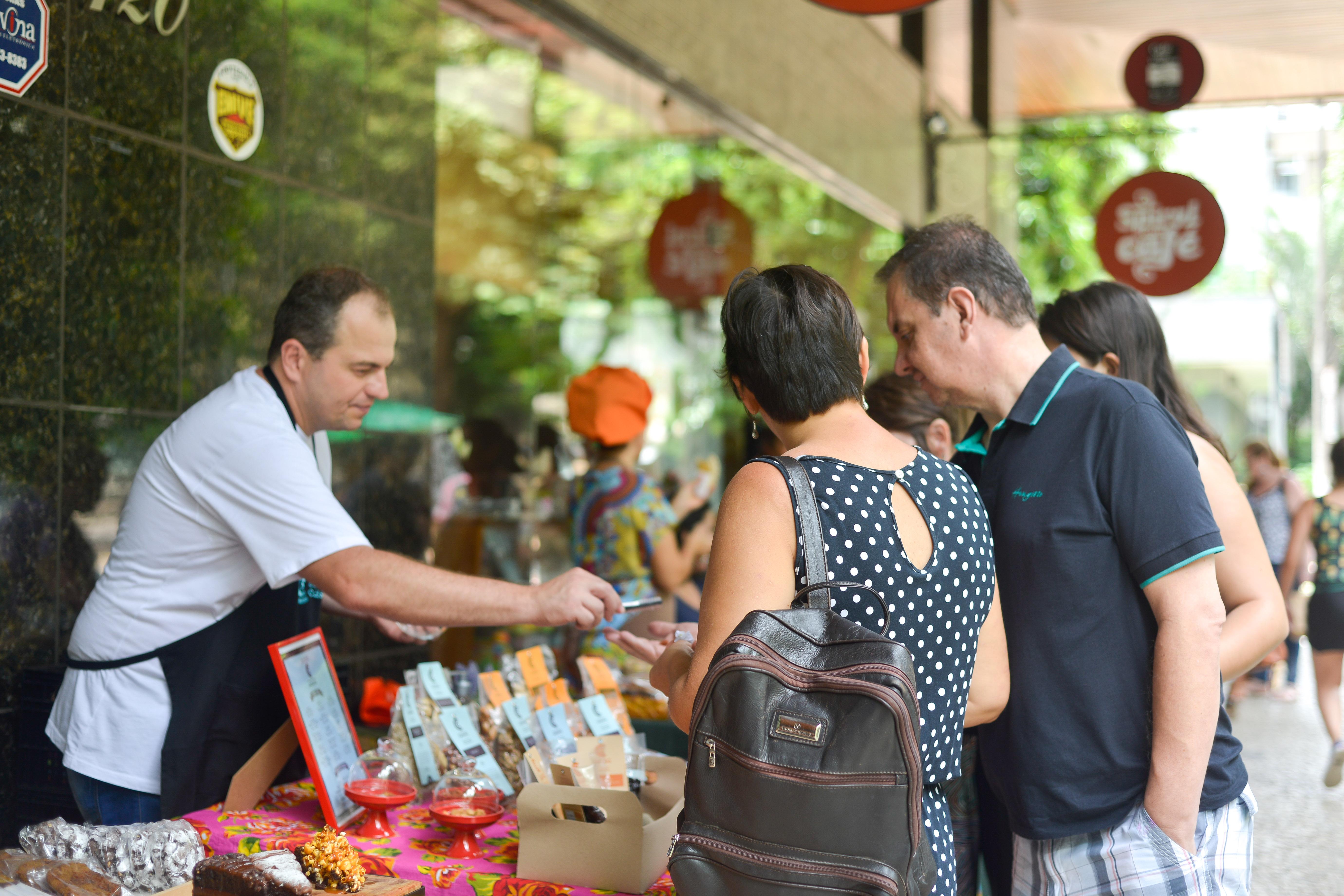 Comunidade da Castanha na Feira Fresca na Spiral com Café
