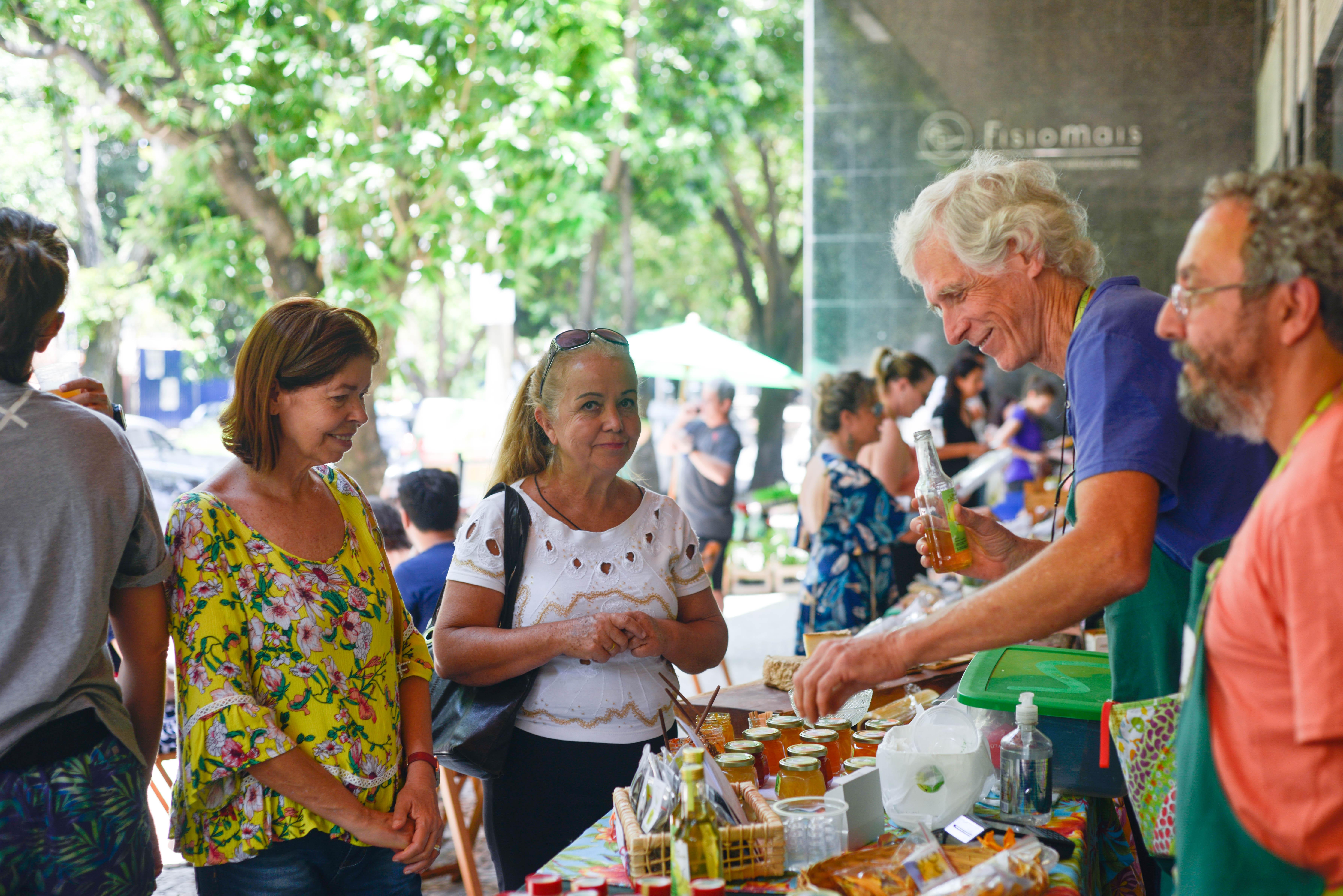 Porteira Verde na Feira Fresca no Spiral com Café