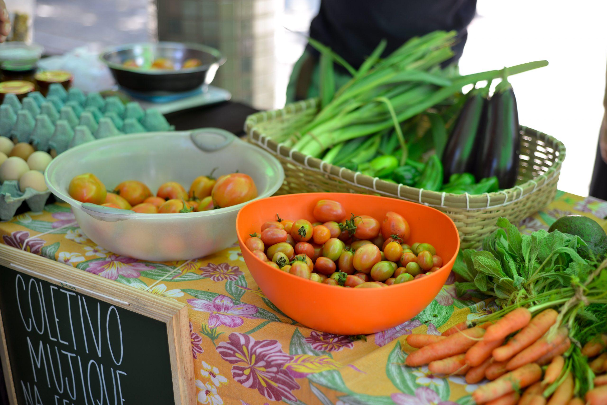 Hortifruti Agroecológico na Feira Fresca na Carandaí