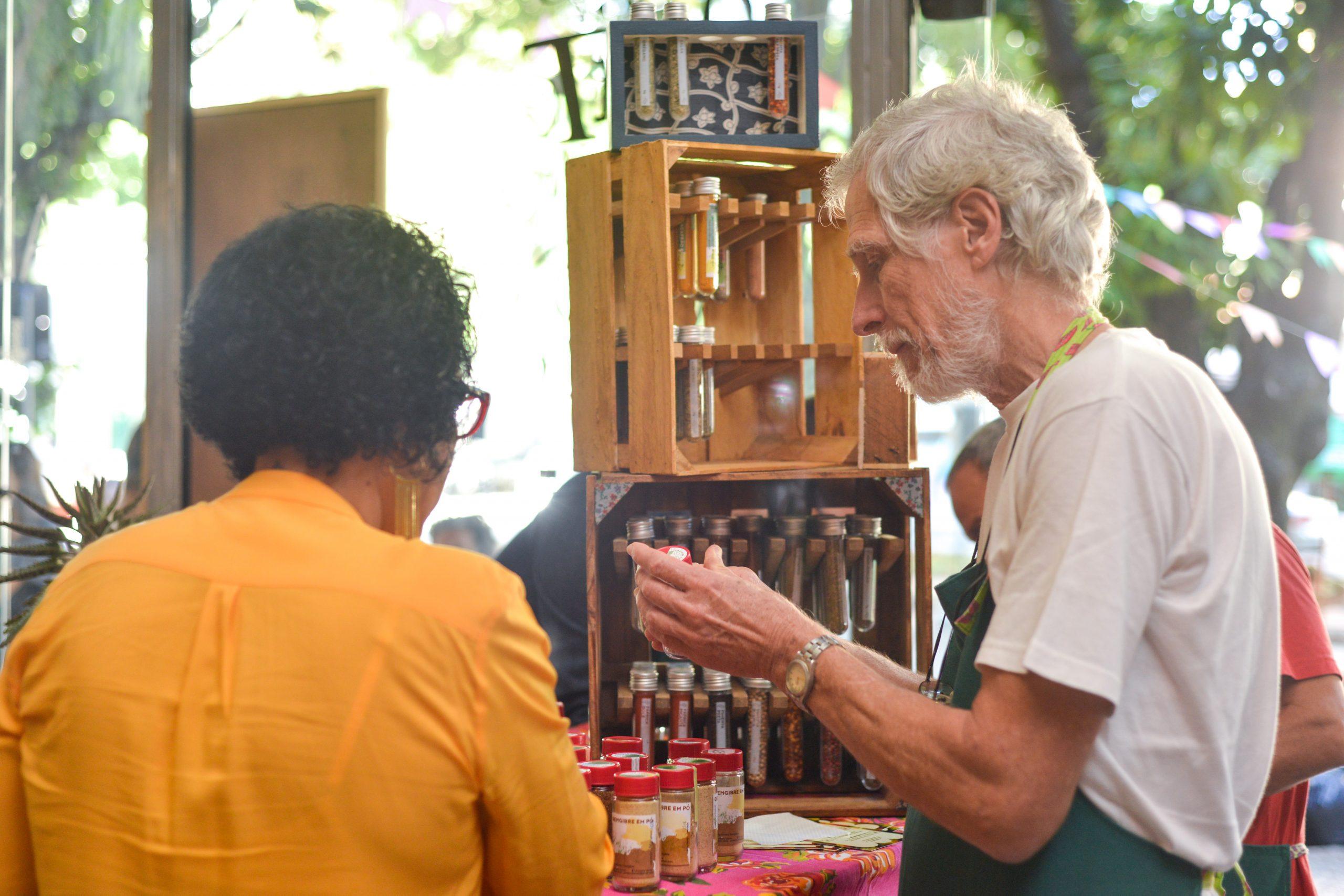Porteira Verde na Feira Fresca da Spiral com Café