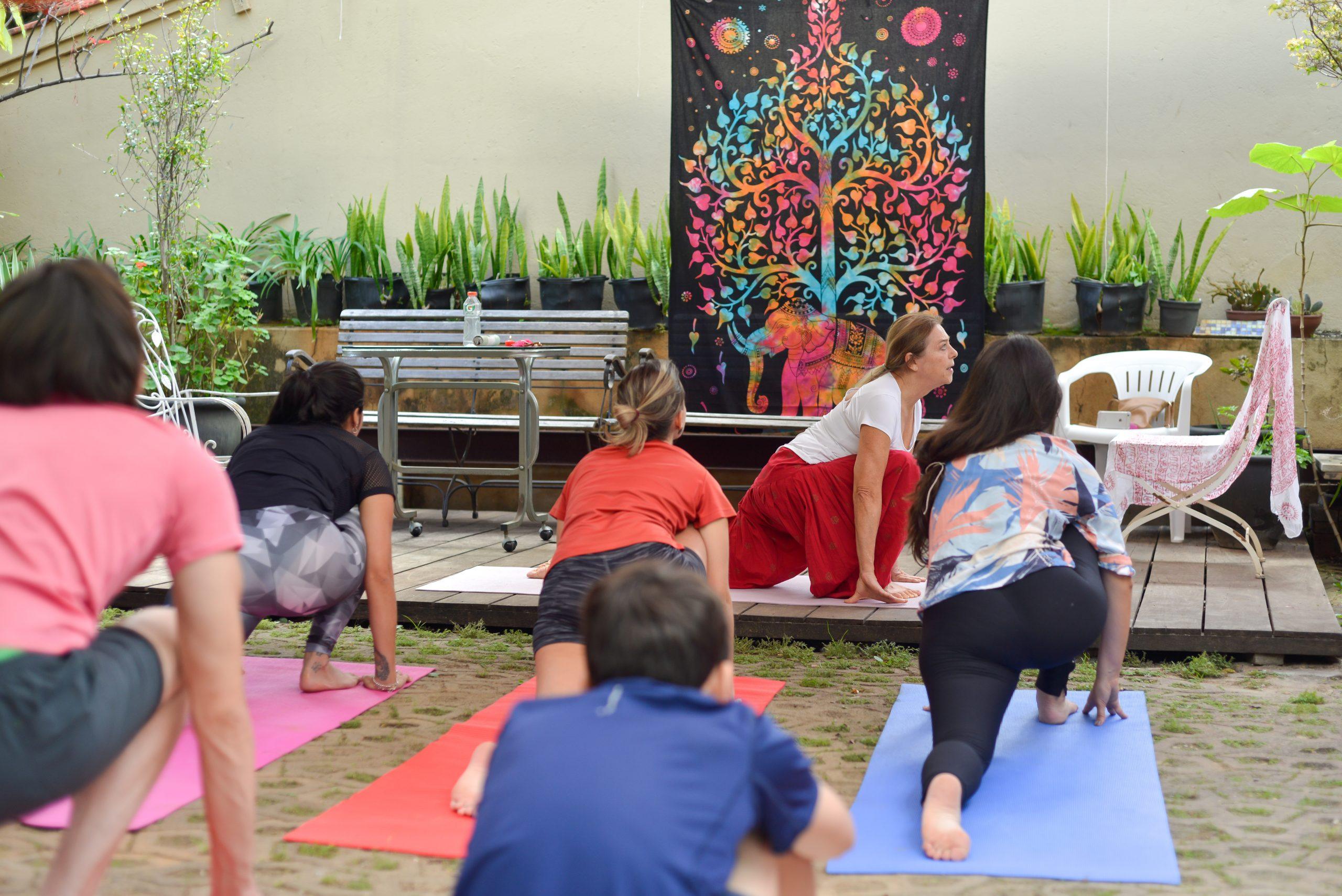Yoga na Feira Fresca